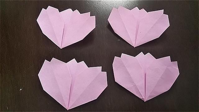 コスモスの花の折り方~花弁の作り方~