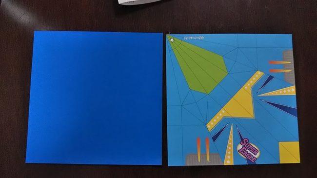 【セリアの折り紙】紙飛行機のスーパーイーグルに必要な材料