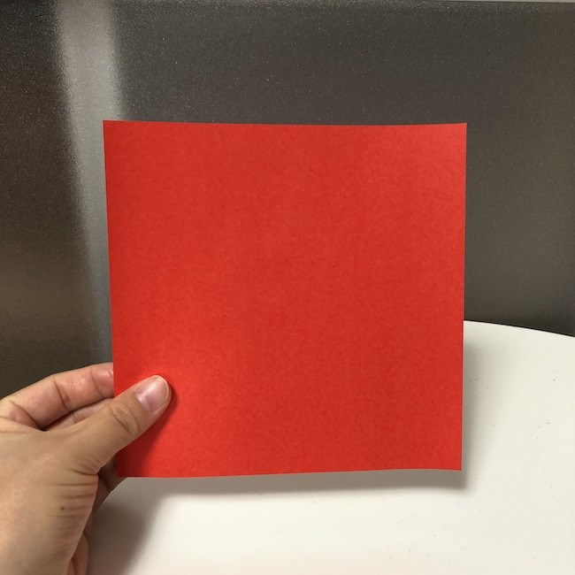 2歳児もつくれる折り紙のチューリップ*用意するもの