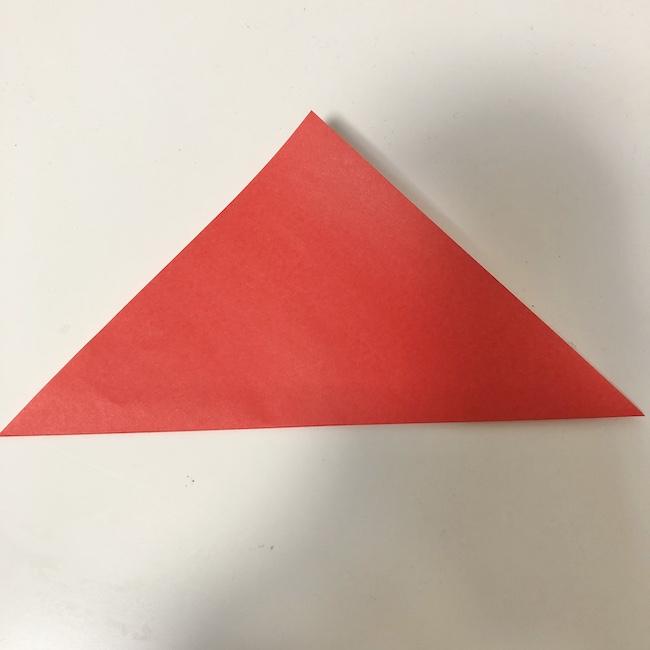 チューリップの折り紙★2歳児でもOKな折り方作り方 (1)