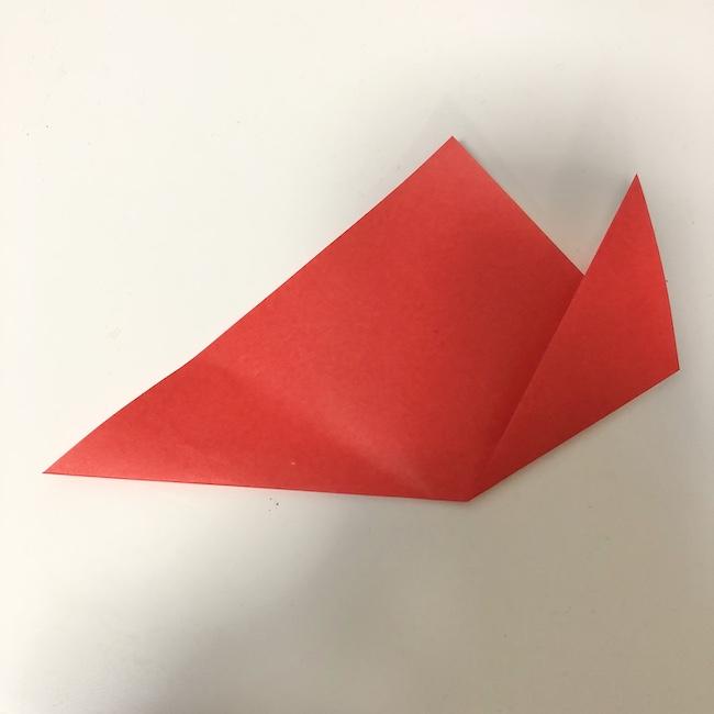 チューリップの折り紙★2歳児でもOKな折り方作り方 (2)