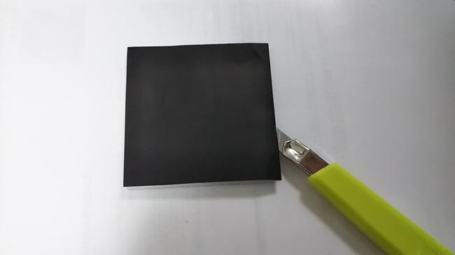 黒猫の折り方~下準備編~1