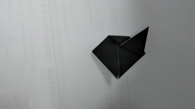 黒猫の折り方~顔~ (10)