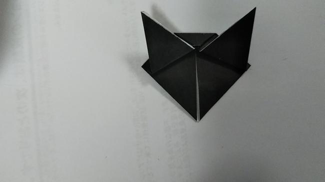 黒猫の折り方~顔~ (11)