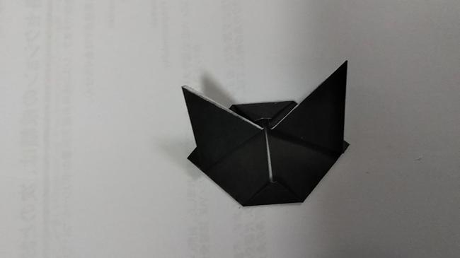 黒猫の折り方~顔~ (12)
