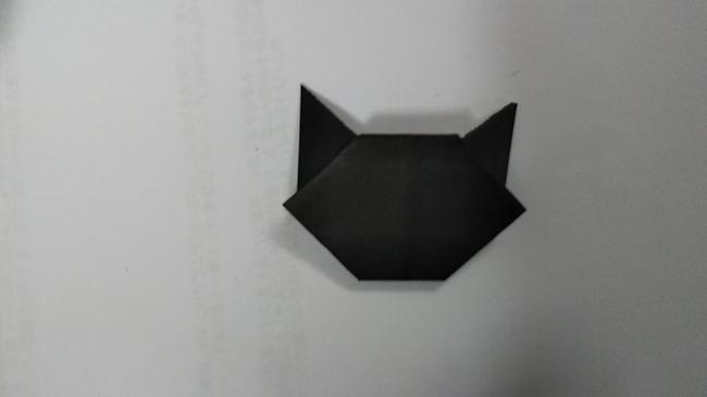 黒猫の折り方~顔~ (13)