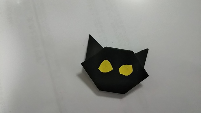 黒猫の折り方~顔~ (14)