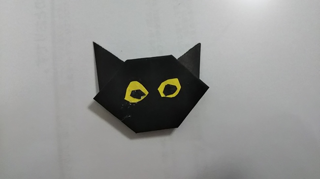 黒猫の折り方~顔~ (16)