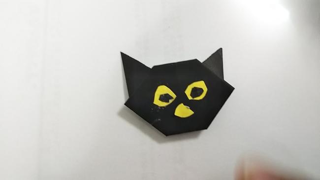 黒猫の折り方~顔~ (17)