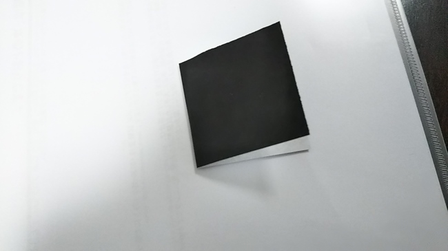 黒猫の折り方~顔~ (3)
