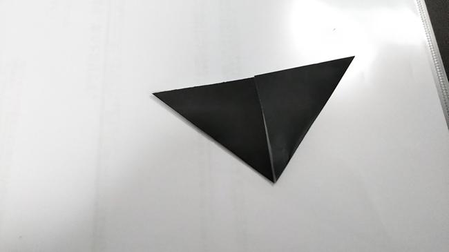黒猫の折り方~顔~ (5)