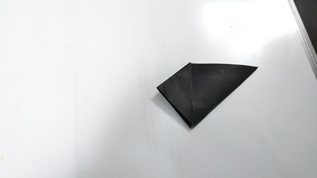 黒猫の折り方~顔~ (6)