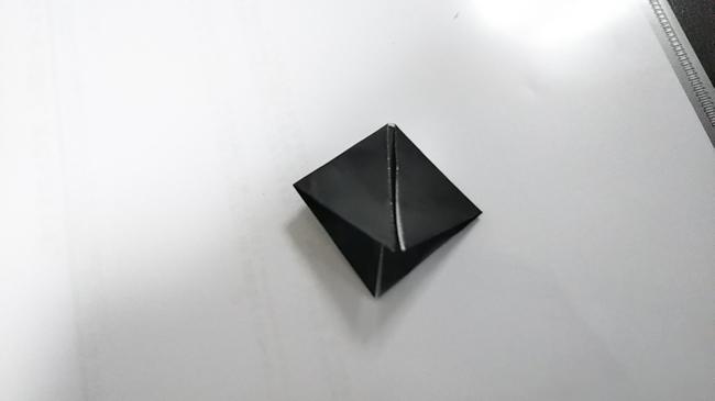 黒猫の折り方~顔~ (7)