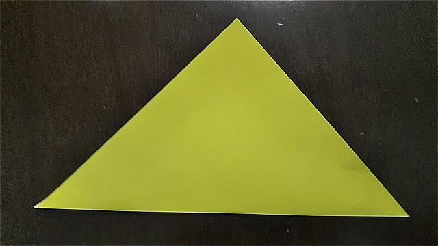 4枚の折り紙で作るリースの折り方~手順~ (3)