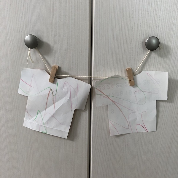 【ままごと・洗濯】手作りのおもちゃで洗濯ごっこ遊び♪2歳児からOK!