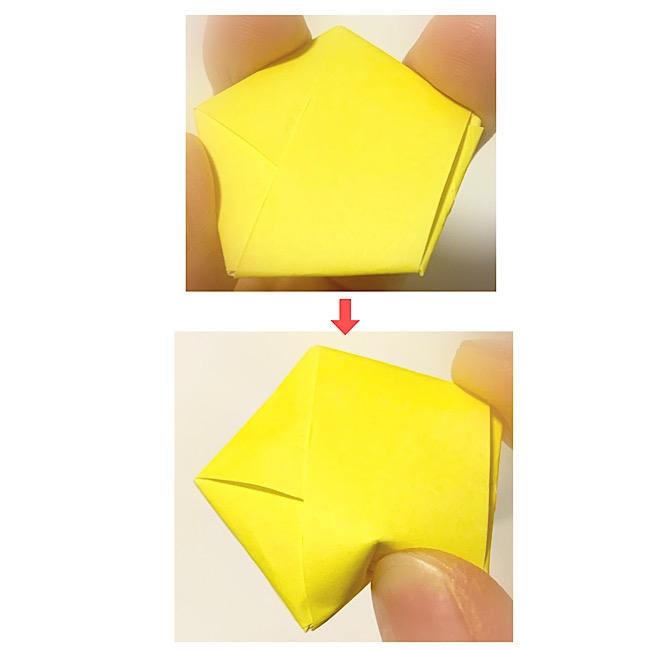 折り紙の星の折り方~1枚でカンタンに♪
