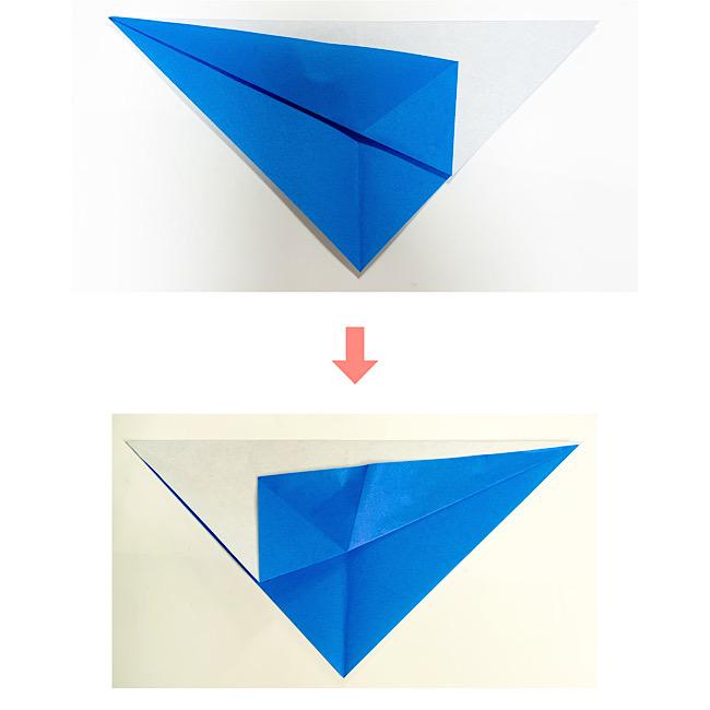 いるかの折り紙 折り方・作り方 (2)