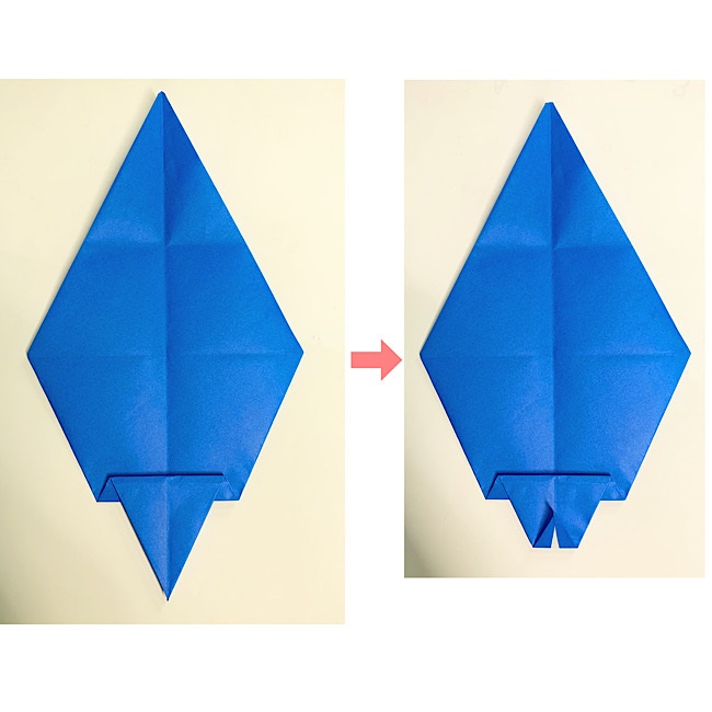 いるかの折り紙 折り方・作り方 (7)