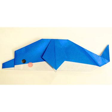 いるかの折り紙 簡単な折り方♪幼児も大好きな動物イルカを作ろう