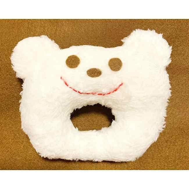 にぎにぎ 手作りのクマ☆赤ちゃんのおもちゃの作り方♪型紙つき☆