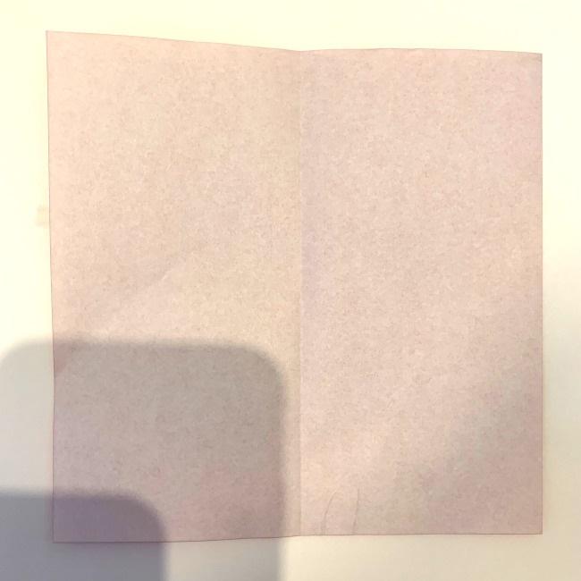 クワガタ 折り紙で簡単に平面で折る作り方 (2)