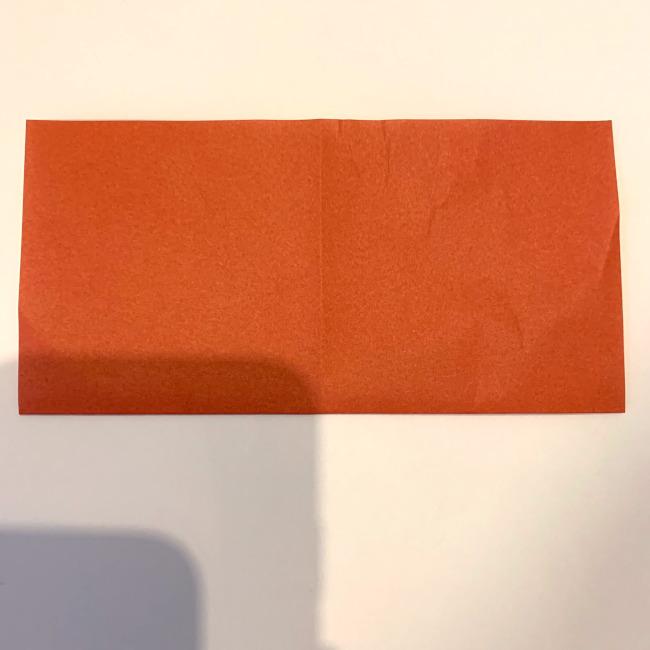 クワガタ 折り紙で簡単に平面で折る作り方 (3)
