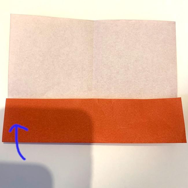クワガタ 折り紙で簡単に平面で折る作り方 (5)