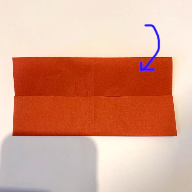 クワガタ 折り紙で簡単に平面で折る作り方 (6)