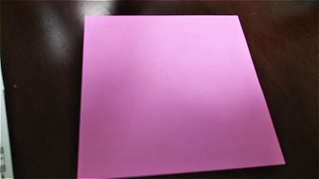 フラミンゴは折り紙1枚でつくれる♪ハサミなし!~
