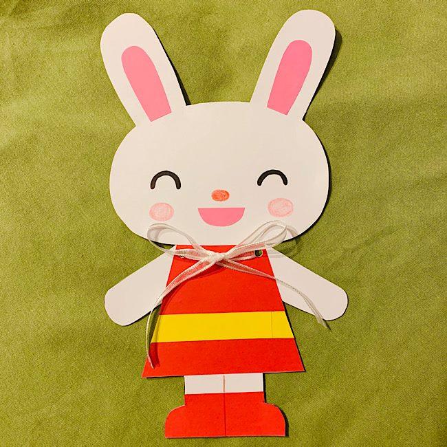 リボン結び練習用のおもちゃを手作り♪子供も大好きウサギの作り方