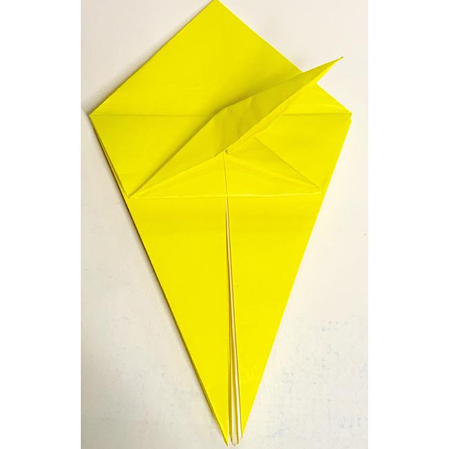 折り紙で魚をつくろう!エンゼルフィッシュ(熱帯魚)の折り方 (10)