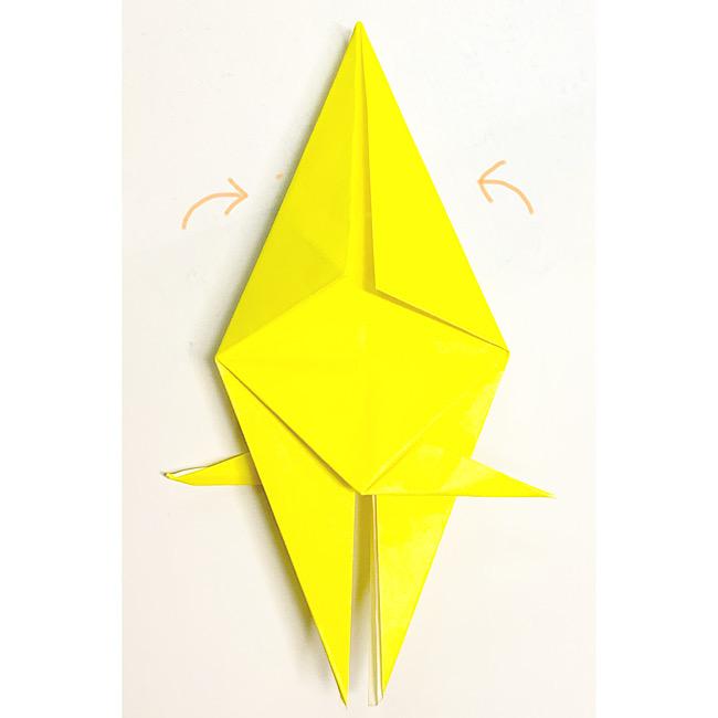 折り紙で魚をつくろう!エンゼルフィッシュ(熱帯魚)の折り方 (12)