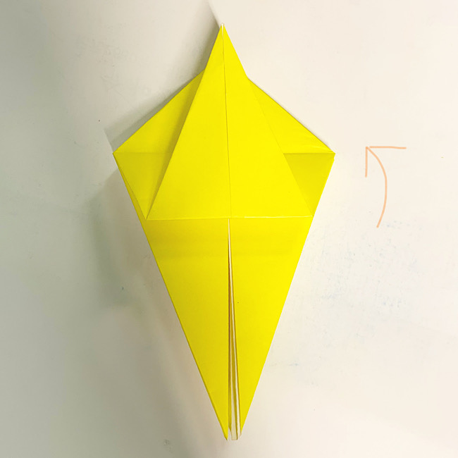 折り紙で魚をつくろう!エンゼルフィッシュ(熱帯魚)の折り方 (7)