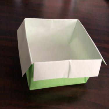 折り紙のゴミ箱はかわいい!作り方を紹介 (15)