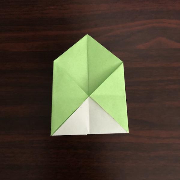 折り紙のゴミ箱はかわいい!作り方を紹介 (10)