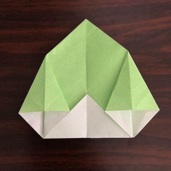 折り紙のゴミ箱はかわいい!作り方を紹介 (11)