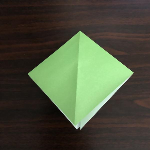 折り紙のゴミ箱はかわいい!作り方を紹介 (4)