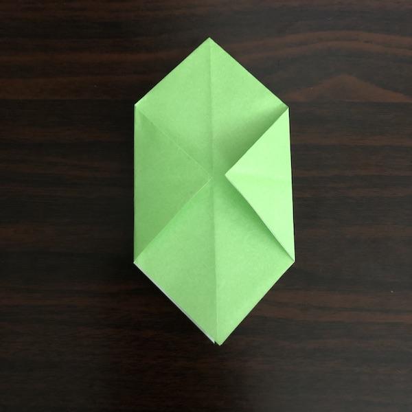 折り紙のゴミ箱はかわいい!作り方を紹介 (6)