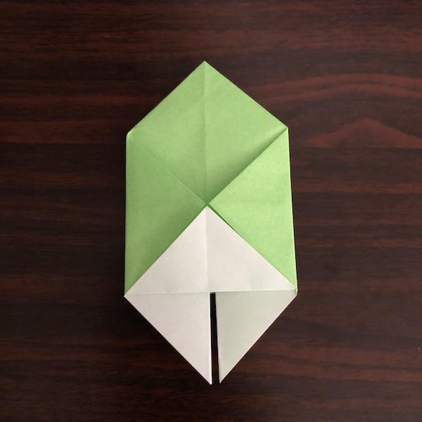 折り紙のゴミ箱はかわいい!作り方を紹介 (7)