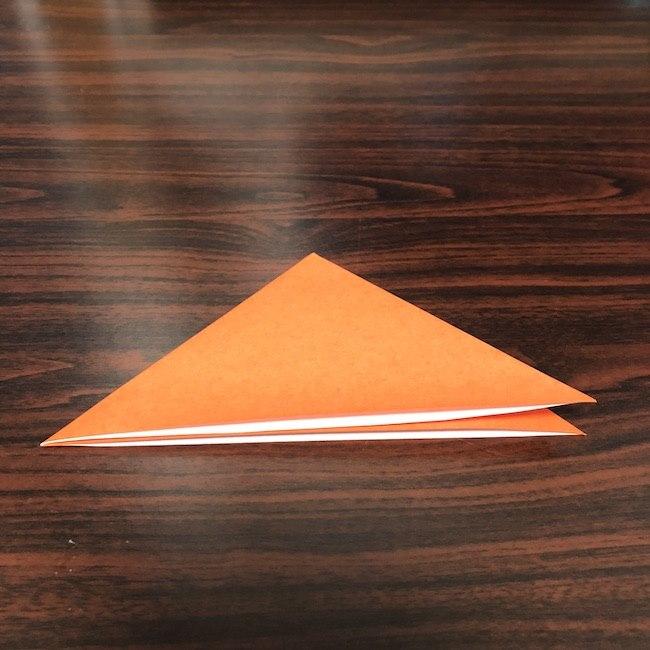 折り紙をつかったジャック オ ランタンの折り方 (2)