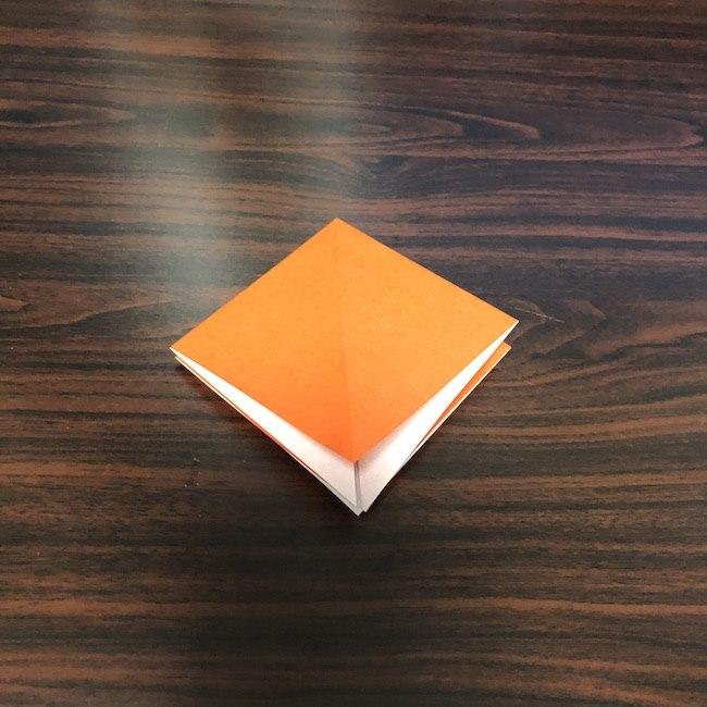折り紙をつかったジャック オ ランタンの折り方 (4)