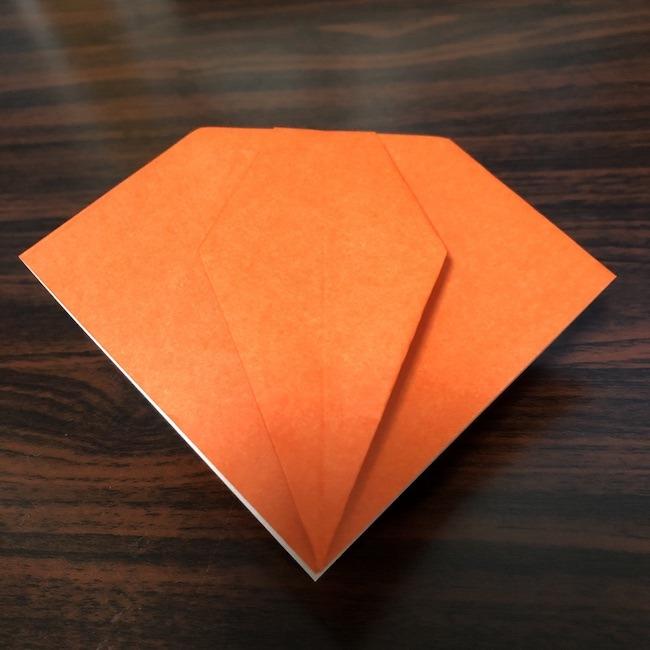 折り紙をつかったジャック オ ランタンの折り方 (7)