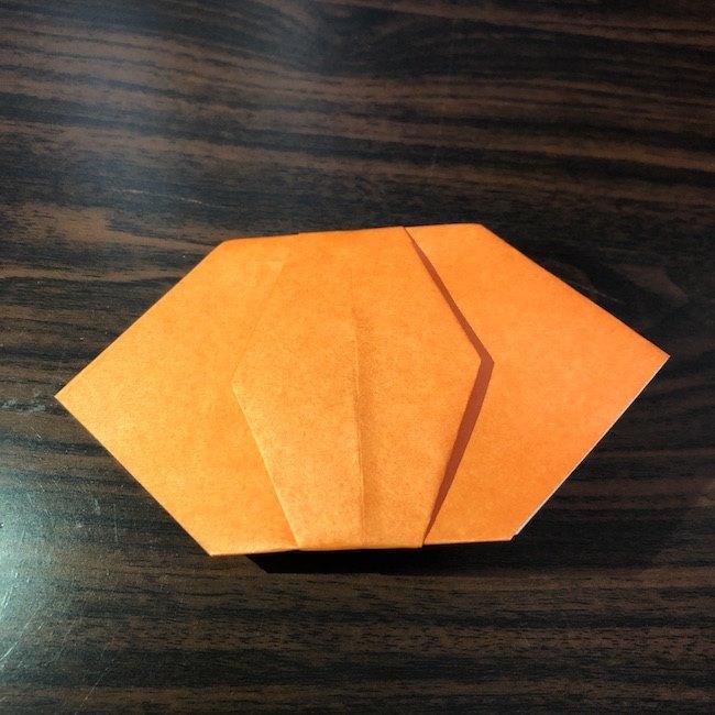 折り紙をつかったジャック オ ランタンの折り方 (8)