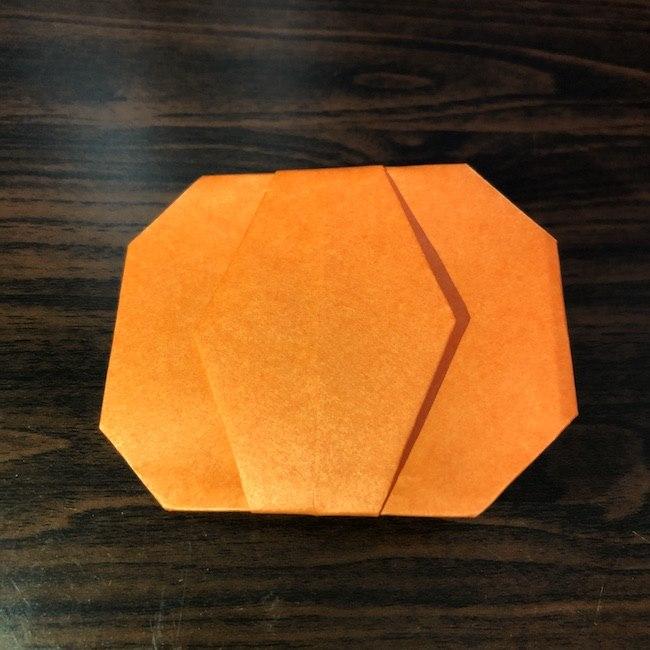 折り紙をつかったジャック オ ランタンの折り方 (9)
