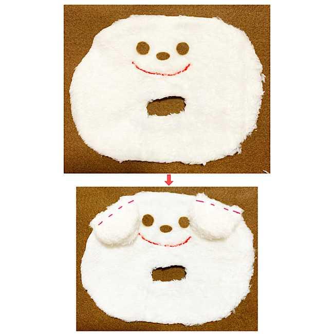 赤ちゃんのおもちゃ|手作りのにぎにぎクマさんの作り方☆型紙つき (4)