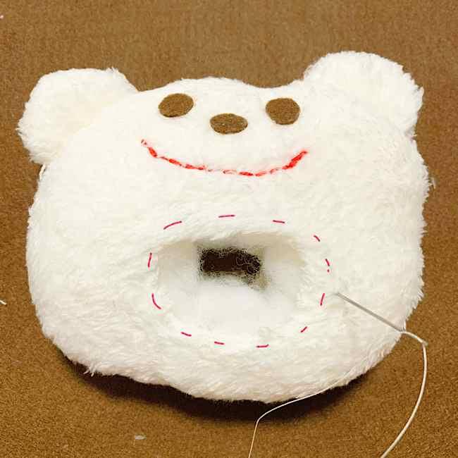 赤ちゃんのおもちゃ|手作りのにぎにぎクマさんの作り方☆型紙つき (6)