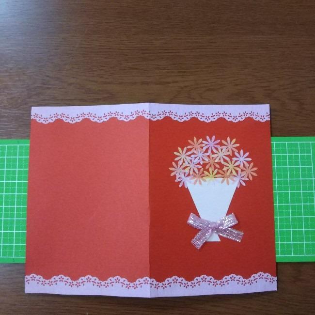 簡単♪おしゃれでかわいい花束のメッセージカードの作り方