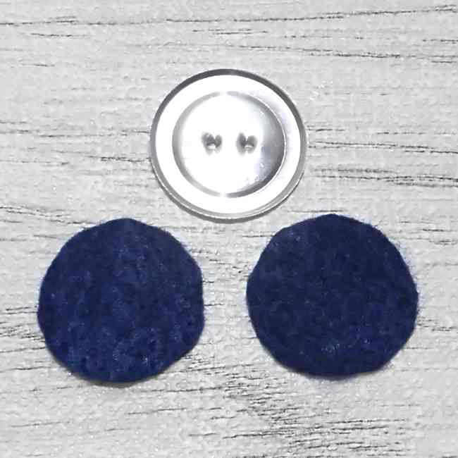 くるみボタンピアスの作り方~裏側までキレイ~ (6)