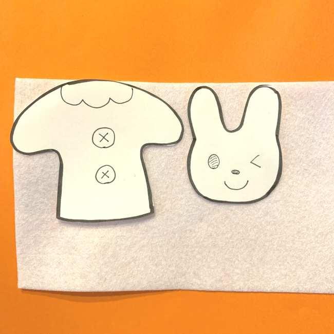 フェルトの指人形の作り方☆型紙(無料)つき (2)
