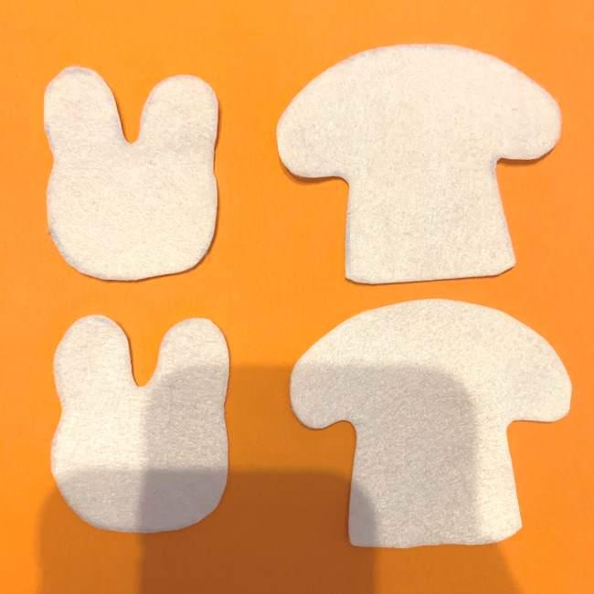 フェルトの指人形の作り方☆型紙(無料)つき (3)